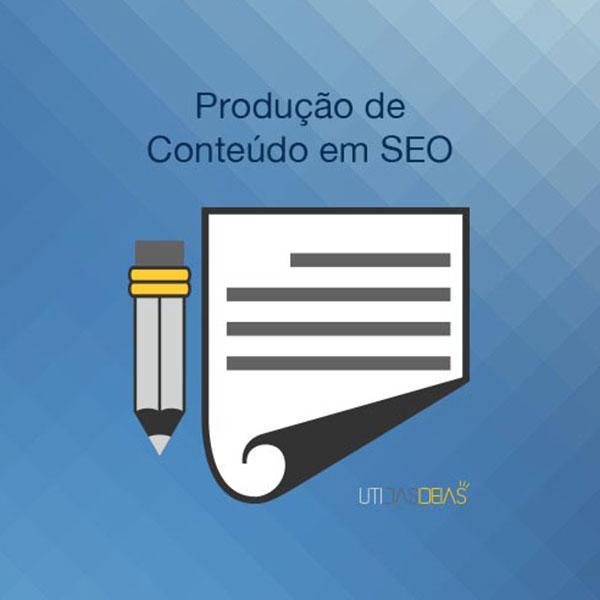 Produção de conteúdo em SEO