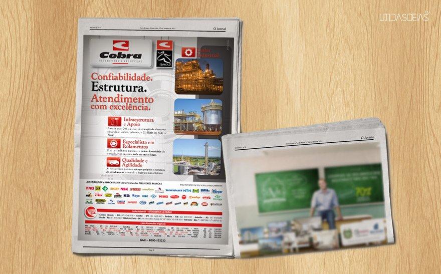 Anúncio - Jornal Cana - Edição 1
