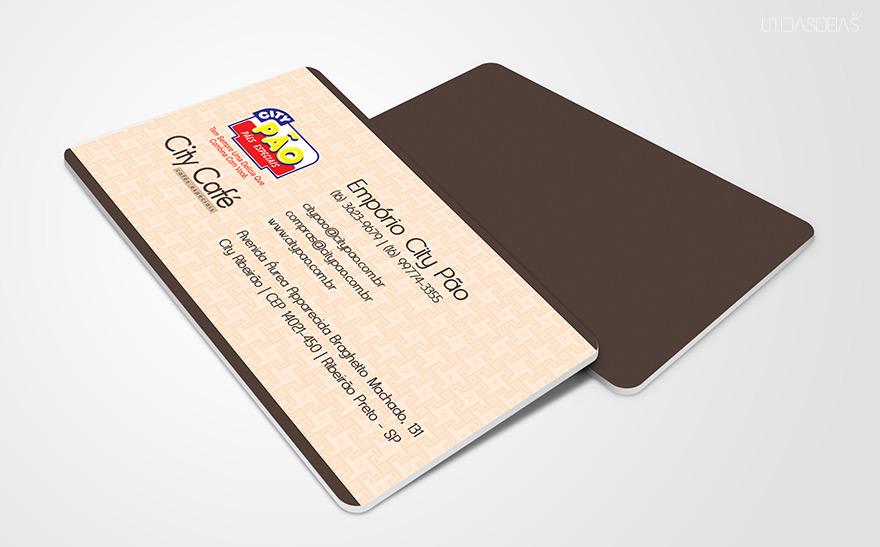 Criação de cartão de visita