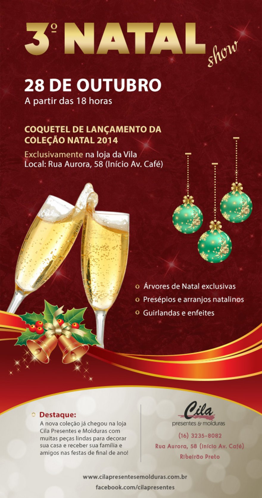 E-mail Marketing 3º Natal Show