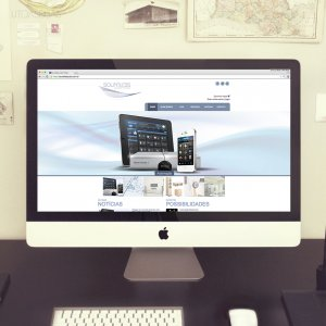 criação de site para empresa de automação - Soundless Áudio