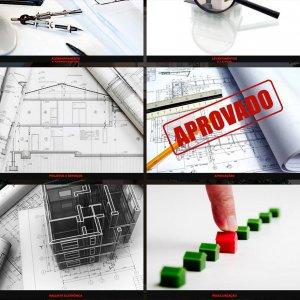 criação de site para escritório de arquitetura - página de serviços - Dcomd