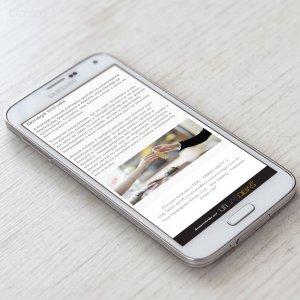 criação de site institucional para imobiliária - mockup celular - Donegá Imóveis