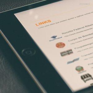 criação de site - página links - Portal dos Condomínios