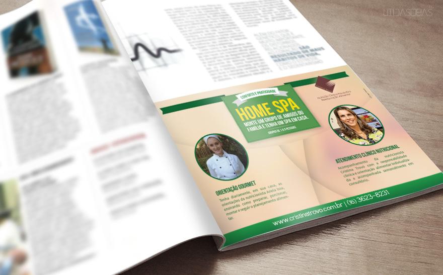 Anúncio Home SPA - revista Revide