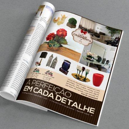 Anúncio Revista Noivos
