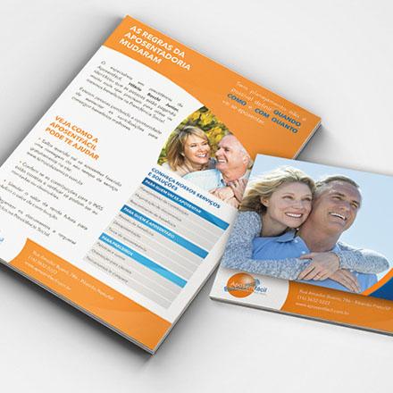 Folder sobre aposentadoria
