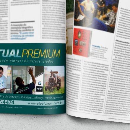 Anúncio para revista Comércio em Ribeirão