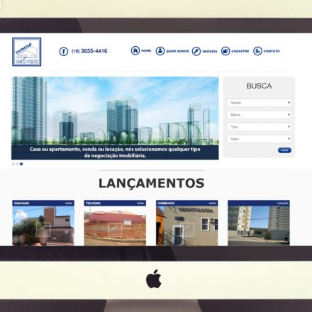 Desenvolvimento de site institucional